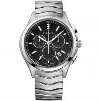 homme Ebel Wave Chronograph Watch 1216342