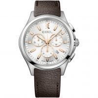 homme Ebel Wave Chronograph Watch 1216341