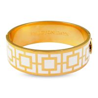 Ladies Halcyon Days Gold Plated Maya Bangle 202/DH018