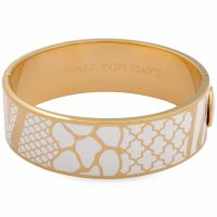 Ladies Halcyon Days Gold Plated Wildlife Bangle 202/DH040