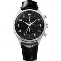 Herren William L 1985 Klein Chrono Chronograf Uhren