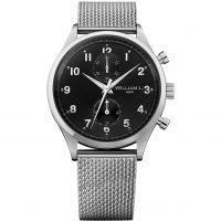 Herren William L 1985 Small Chrono Chronograph Watch WLAC02NRMM
