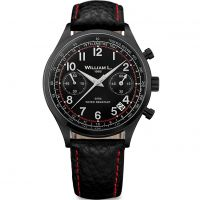 Herren William L 1985 Vintage Chrono Chronograf Uhren