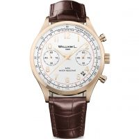 Herren William L 1985 Vintage Chrono Chronograf Uhren