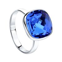 Biżuteria damska Sokolov Express Yourself Blue Crystal Ring Size N 94011875