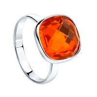 Biżuteria damska Sokolov Express Yourself Red Crystal Ring 94011876