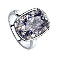 Sokolov Vintage Crystal Ring JEWEL