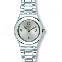 Damen Swatch More Silber Keeper Uhren