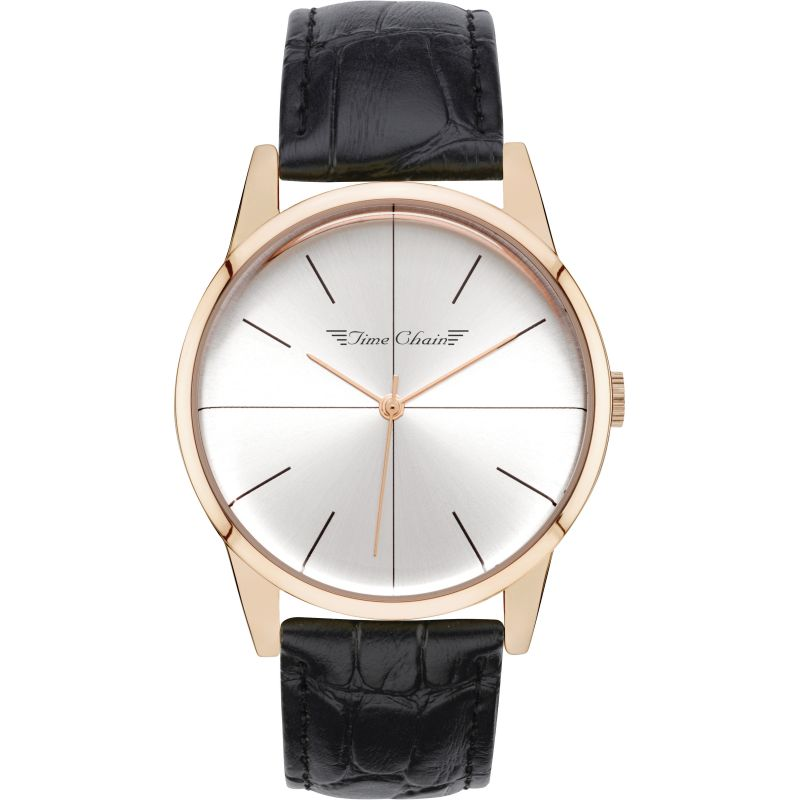 Unisex Time Chain Dalston Watch 70002/RG