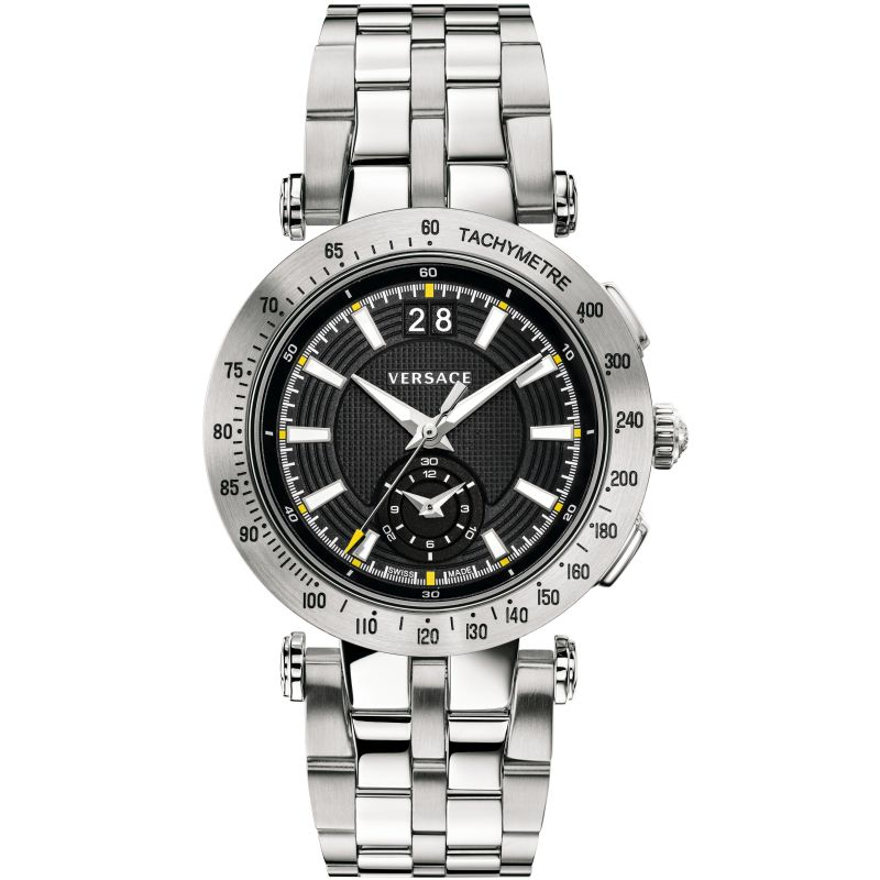 Mens Versace V-Race Chronograph Watch
