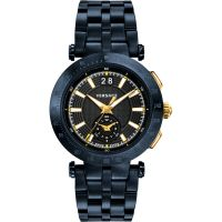 Herren Versace V-Race Chronograph Watch VAH050016
