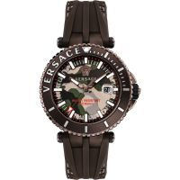 Herren Versace V-Race Diver Watch VAK060016