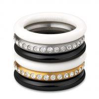Damen Swatch Bijoux Edelstahl Merry Weiß Ring Größe N