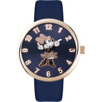 Disney Minnie Mouse Unisexklocka Blå MN1471