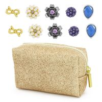 Ladies Lonna And Lilly Base metal Set of 5 Stud Earrings 60444008-887