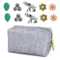 Ladies Lonna And Lilly Base metal Set of 5 Stud Earrings