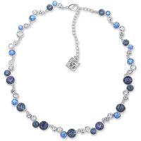 Damen Anne Klein Silber Plated Kragen Halskette
