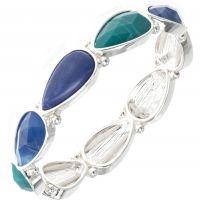 femme Nine West Jewellery Droplet Bracelet Watch 60450435-276