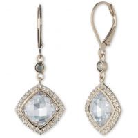 Ladies Judith Jack Base metal Crystal Earrings