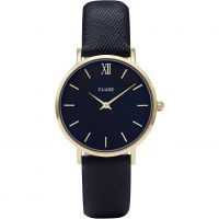 Ladies Cluse Minuit Leather Watch