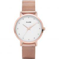 Damen Cluse Pavane Maschen Uhr