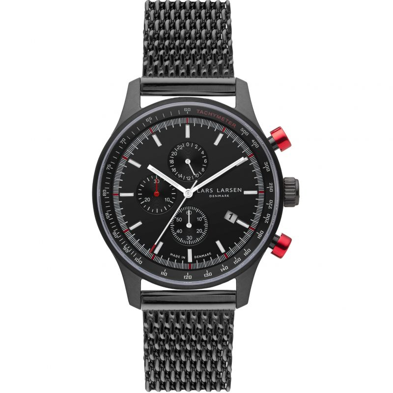 Mens Lars Larsen LW33 Chronograph Watch