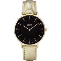 Damen Cluse La Boheme Gold Uhr