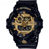 homme Casio G-Shock Alarm Chronograph Watch GA-710GB-1AER
