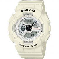 Damen Casio Baby-G Punching Pattern Alarm Chronograph Watch BA-110PP-7AER