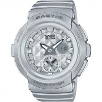Ladies Casio Baby-G Stud Dial Alarm Chronograph Watch