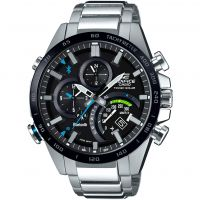Hommes Casio Edifice Bluetooth World Traveller Alarme Chronographe Solaire Montre