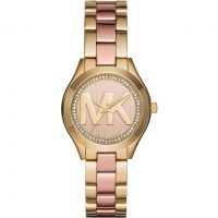 Michael Kors Mini Parker Dameshorloge Tweetonig MK3650