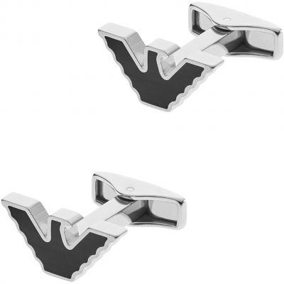 Mens Emporio Armani Stainless Steel Cufflinks EGS2287040