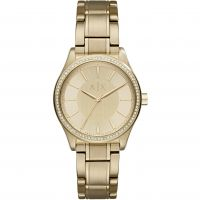 Armani Exchange Dameshorloge Goud AX5441