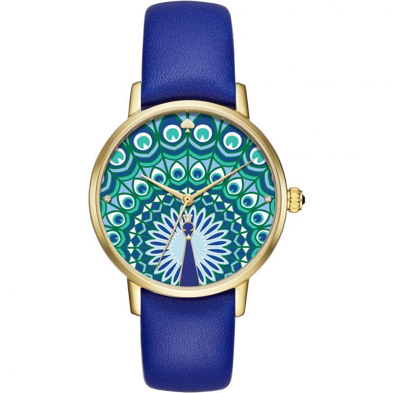 Ladies Kate Spade New York Metro Peacock Watch