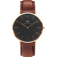 Zegarek uniwersalny Daniel Wellington Classic Black St Mawes Watch 40mm DW00100124