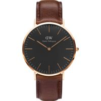 Zegarek uniwersalny Daniel Wellington Classic Black Bristol Watch 40mm DW00100125