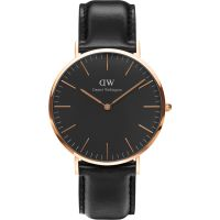 Zegarek uniwersalny Daniel Wellington Classic Black Sheffield Watch 40mm DW00100127