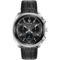 Herren Bulova Sport CURV Chronograph Watch 98A155