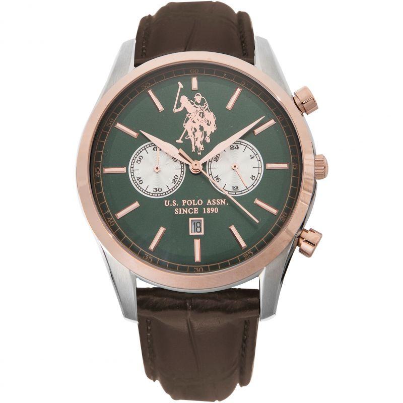 Mens US Polo Association Chronograph Watch