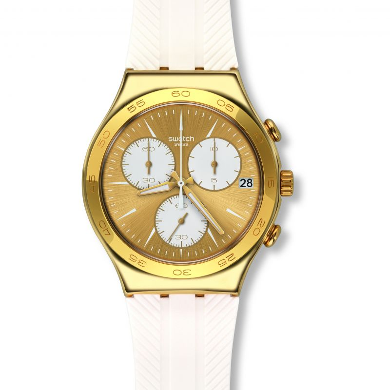 Unisex Swatch Soukaina Chronograph Watch