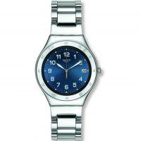 Unisex Swatch Blue Pool Watch YGS474G