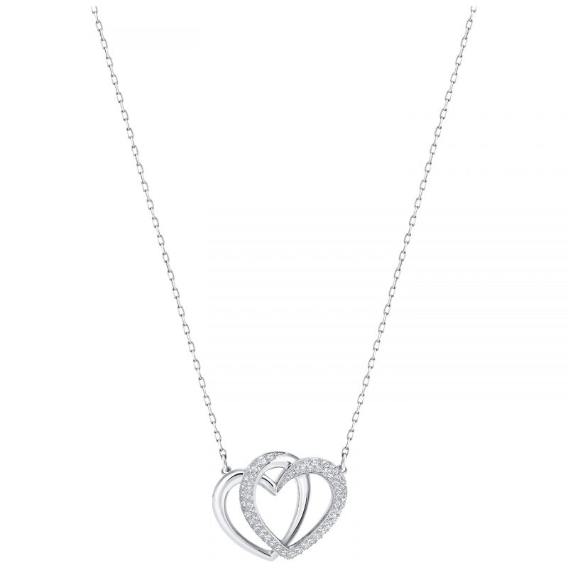 Gioielli da Donna Swarovski Jewellery Dear Double Heart Necklace 5345475