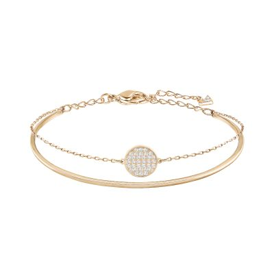 Ladies Swarovski Rose Gold Plated Ginger Bracelet 5274892