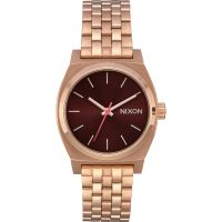 Nixon The Medium Time Teller Unisex horloge Rose A1130-2617