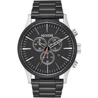 Herren Nixon The Sentry Chrono Chronograph Watch A386-2541