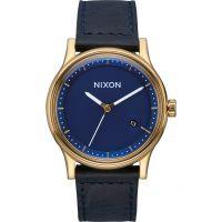Herren Nixon The Station Leder Uhren