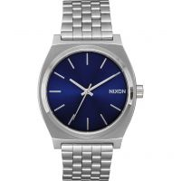 Nixon The Time Teller Unisexklocka Silver A045-1258