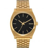 Nixon The Time Teller Unisexklocka Guld A045-2042