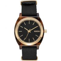 Nixon The Time Teller Acetate Unisexklocka Svart A327-647